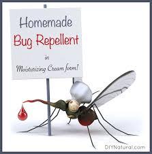 mosquito repellent cream homemade