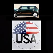 Mini Cooper Fuel Gas Cap Custom Decal Sticker Uk Flag Yes It S Fast 6 25 O Ebay