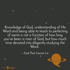 knowledge of god underst quotes writings by sir mankind