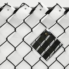 Pexco 10 In X 2 In Black Chain Link Fence Privacy Weave 42 32 Chain Link Fence Fence Weaving Chain Link Fence Privacy