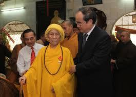 VGP News :. | Chủ tịch MTTQVN tưởng nhớ Hòa thượng Thích Trí Tịnh ...