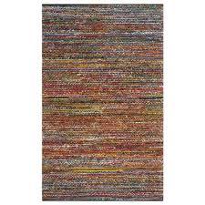 x9 ft multi colored area rug
