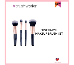 travel makeup brush set mini starter