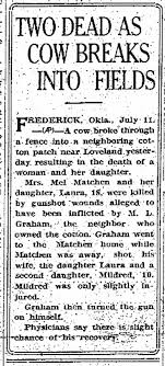 Myrtle Parker, wife of Mel Matchen, and daughter Laura. - Newspapers.com