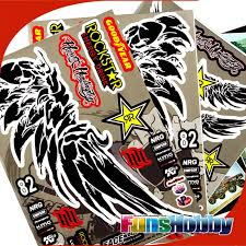Faceworx 1 10 Rc Model Car Decal Sticker Paper Rockstar Wing Style Drift On Road Fwr001 Free Shipping Free Ps3 Free Gym Ball Exercisesfree Nature Coloring Pages Aliexpress
