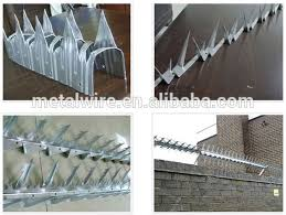 Security Spike Anti Climb Wall Spike On Top Of Fence Wall Gate China Manufacturer