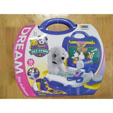 HÀNG ĐẸP GIÁ TỐT]đồ chơi cho bé - Bộ đồ chơi vali Pet shop cao cấp ...