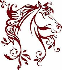 Horse Flowers Tribal Rodeo Cowgirl Western Car Truck Window Vinyl Decal Sticker Ebay