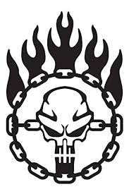 Immortan Joe War Logo Chain Skull Steering Wheel Mad Max Inspired Vinyl Decal Available In 2 Sizes And 12 Different Colors Mad Max Store