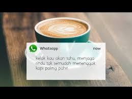 kata kata quotes caption tentang kopi kekinian cocok untuk