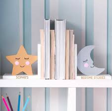 Kids Bookends Vintage Personalized And Kid Safe Book Riot