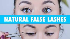 false lashes without eyeliner