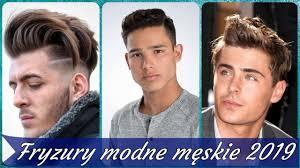 Top 20 Modne Fryzury Meskie 2019 Youtube