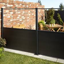 Goodhome Neva Composite Fence Slat L 1 79m T 21mm Pack Of 3dark Grey In 2020 Fence Slats Front Garden Small Front Gardens