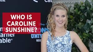 Who is Caroline Sunshine? - YouTube