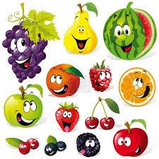 Vektor zábavné ovoce kreslený #14569631 | fotobanka Fotky&Foto