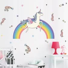 Unicorn Wall Stickers For Kids Room Unilovers
