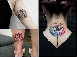 Tatuaz Kwiat Lotosu Znaczenie I Symbolika Etatuator Pl