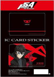 ic card sticker set 1 joker by canaria