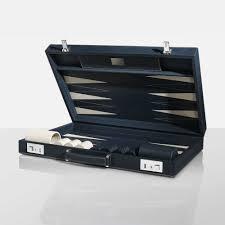 mayfair backgammon case navy games