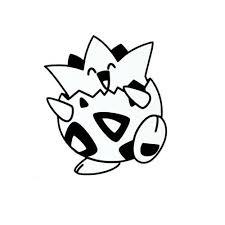 Togepi Pokemon Vinyl Decal Sticker For Macbook Laptop Car Window Bumper Wall Pokemon Decal Pokemon Wall Decals Pokemon Halloween