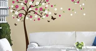 Tree Branch Wall Decal White Nursery For Australia Pictures Art Childrens Room Uk With Birds Small Vamosrayos