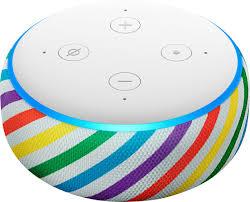 Best Buy Amazon Echo Dot Kids Edition Smart Speaker With Alexa Rainbow B07q2mxph6 B07kzbmbdb