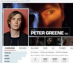 Blu-ray.com listing for Peter Greene has photo of Cillian Murphy :  mildlyinteresting