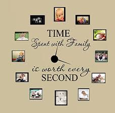 Time Spent With Family With Worth Every Second 3 Wall Decal Home Decor 6 Walmart Com Walmart Com