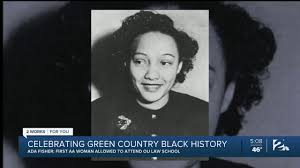 Black History Month: Honoring Ada Fisher - YouTube