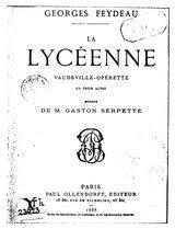 Livre:Feydeau - La Lycéenne.pdf - Wikisource