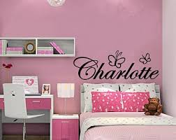 Charlotte Wall Decal Etsy