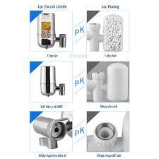 Máy lọc nước tại vòi Lishile 7 thành phần lọc tiêu chuẩn