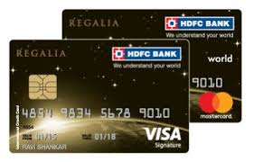 hdfc regalia credit card review