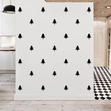 Pine Tree Wall Decals Removable Pattern Pine Tree Wall Sticker Nursery Kids Home Modern Decor 15cm Free Shipping Wall Decor Decal Wall Decor Bedroomwall Decor Animal Aliexpress
