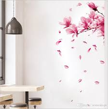 2019removable Peach Plum Blossom Flower Mural Wall Stickers Decorative Wall Art Decal Sticker Home Decor Decoratio Kids Room Wall Decals Kids Room Wall Stickers From Jurassicstore 10 19 Dhgate Com