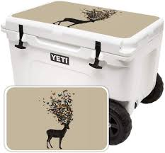 Amazon Com Mightyskins Cooler Not Included Skin Compatible With Yeti Tundra Haul Cooler Lid Wild Nature Protective Durable And Unique Vinyl Decal Wrap Cover Easy To Apply Made In The Usa
