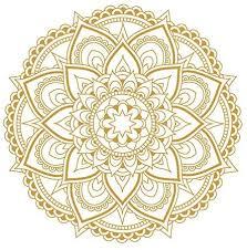 Amazon Com Mandala Flower Wall Decal Vinyl Sticker Boho Bedroom Decor Stickers Wall Art Decor Meditation Yoga Mural Wu293 Gold Kitchen Dining