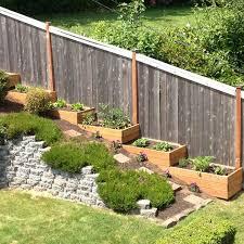 slope patio backyard ideas garden