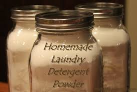 homemade laundry detergent powder