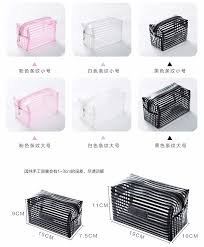 clear makeup bag bulk manufacturers and