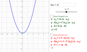 tangent and normal line equations