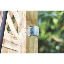 Sabrefix Fencing Clips 47mm 25 Pack Fencing Fixings Screwfix Com