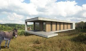 maison en bois de plain pied
