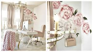 Home Office Update Peonies Wall Sticker Youtube