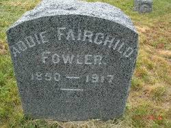 Addie Fairchild Fowler (1850-1917) - Find A Grave Memorial