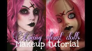 living dead dolls makeup tutorial you