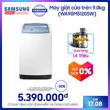 Máy giặt cửa trên Samsung WA90M5120SW 9KG giá rẻ 5.390.000₫