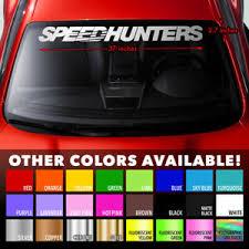 Speedhunters Jdm Drift Japan Car Culture Windshield Banner Vinyl Decal Sticker Ebay
