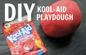 how to make kool aid playdough no